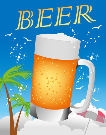 un bottled: Beer illustration icon