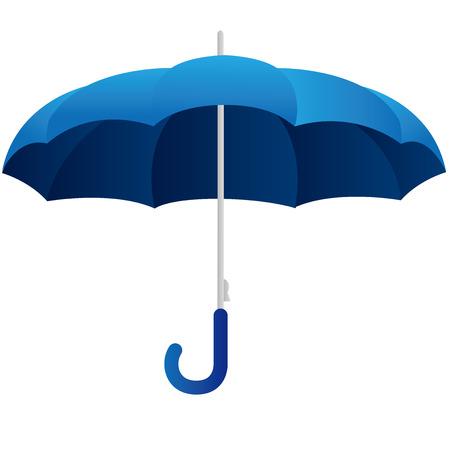 fall protection: umbrella Vector