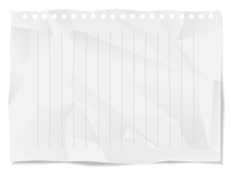 wrinkled paper: Grunge Paper Background Vector