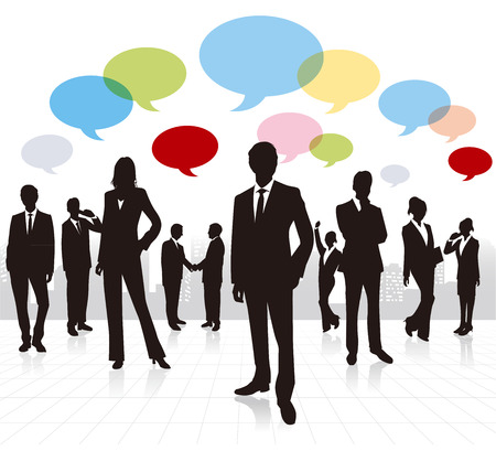 business people Vector  Vector