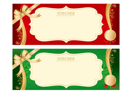 certificate bow: Voucher Vector