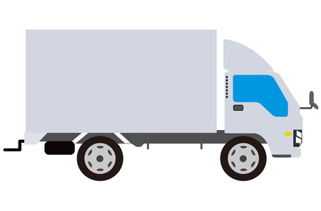 cargo truck: Truck Vector Illustration