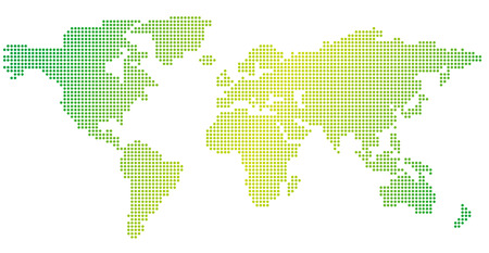 World map of dots vector royalty free cliparts vectors and stock world map of dots vector vector gumiabroncs Choice Image