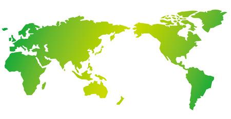 Weltkarte Vektor- Standard-Bild - 36085199