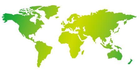 世界地図ベクトル