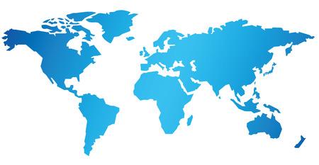 Weltkarte Vektor- Standard-Bild - 37150114