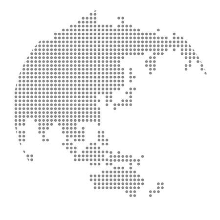 Globe icon Vector Vettoriali