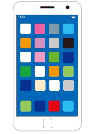 phone vector: smart phone Vector