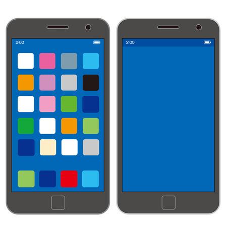 phone icon: smart phone Vector