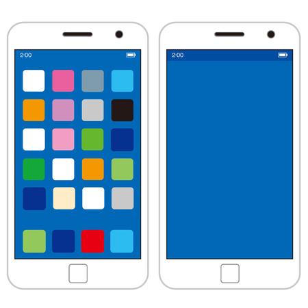 smart: smart phone Vector