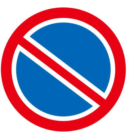no car no parking sign Vector 版權商用圖片 - 46283692