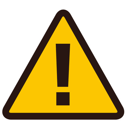 warning sign Vector 免版税图像 - 46283695