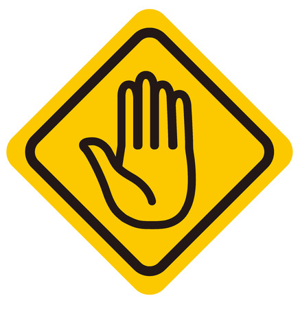 no entry sign: No entry sign Vector