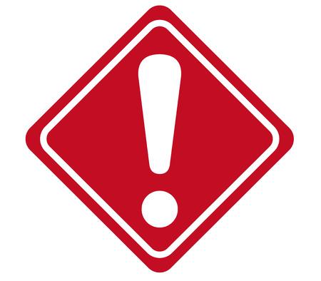 waarschuwingsbord Vector