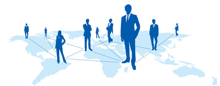 World map Social networking service