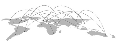 世界地図ベクター