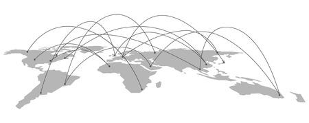 esp: World map Vector