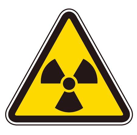 icônes radioactives