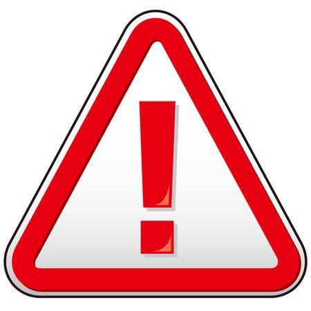 Gefahrenzeichen Symbol Vektor Dreieck