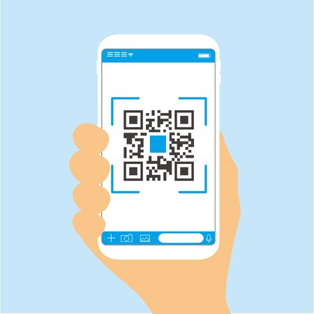 Qr code payment , online shopping