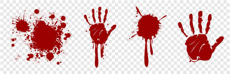 blood splatter splash drop paint