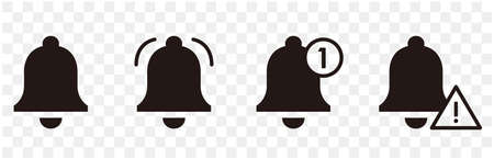 Illustration of Notification bell icon