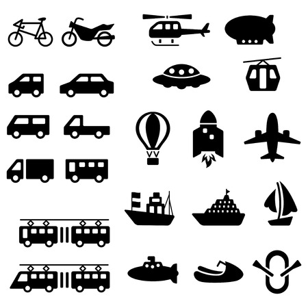Vehicle picture pack Stock Illustratie