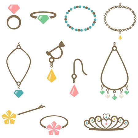 accessory: Accessories icon set