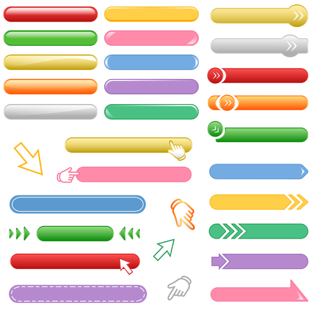 category: Banner and button set