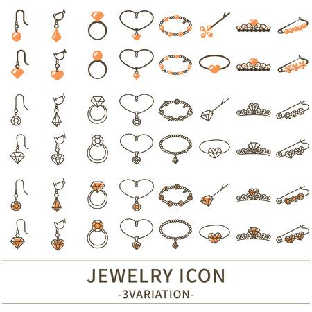 Jewel icon set