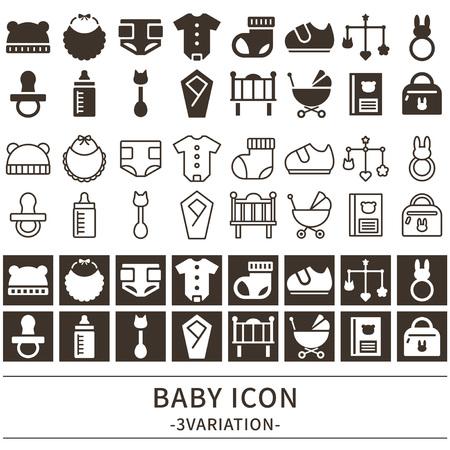 Baby pictogramserie