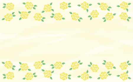 Watercolor roses background  イラスト・ベクター素材