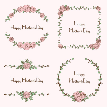 floral mothers day set