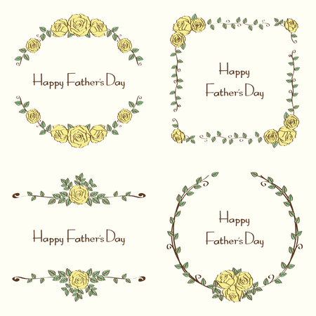 floral fathers day set