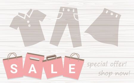 Sale Shopping Bag  Background