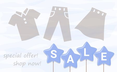 Sale Balloon Watercolor Background