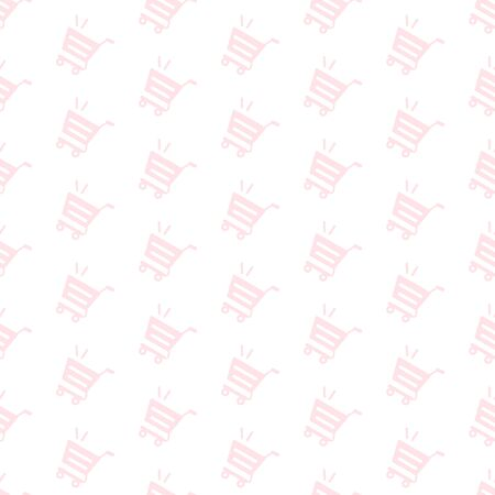 Shopping Cart Background Pattern
