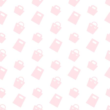 Shopping Bag Background Pattern