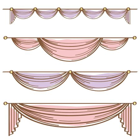 Decorative Curtain Set
