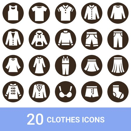 Product Icon Fashion White Pulling out 20 sets