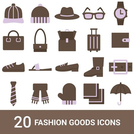 Product Icon Fashion Goods Color 20 Sets