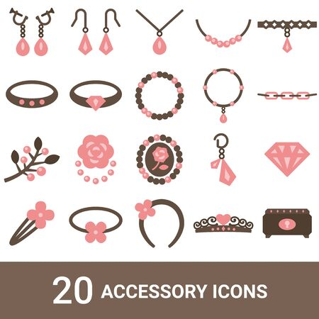 Product Icon Accessories Color 20 Sets