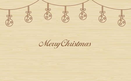 Year-round event Christmas Garland Wood-eye background