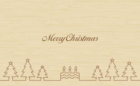 Annual event Christmas tree wood-eye background