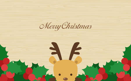 Annual Event Christmas Reindeer Woodme Background