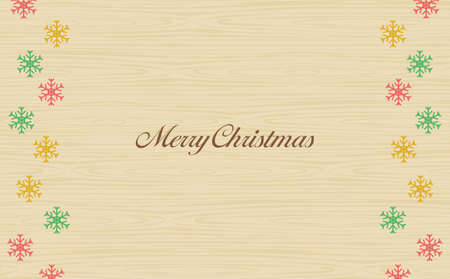 Annual event Christmas snowflakes grain background
