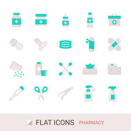 Product Icon Pharmacy Flat Icon
