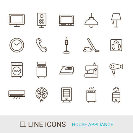 Product Icon Household Appliances Line Icon