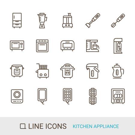 Product Icon Kitchen Appliances Line Icon