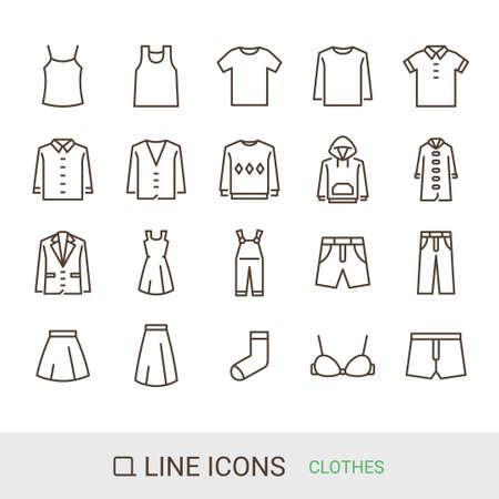 Product Icon Fashion Line Icon Ilustración de vector